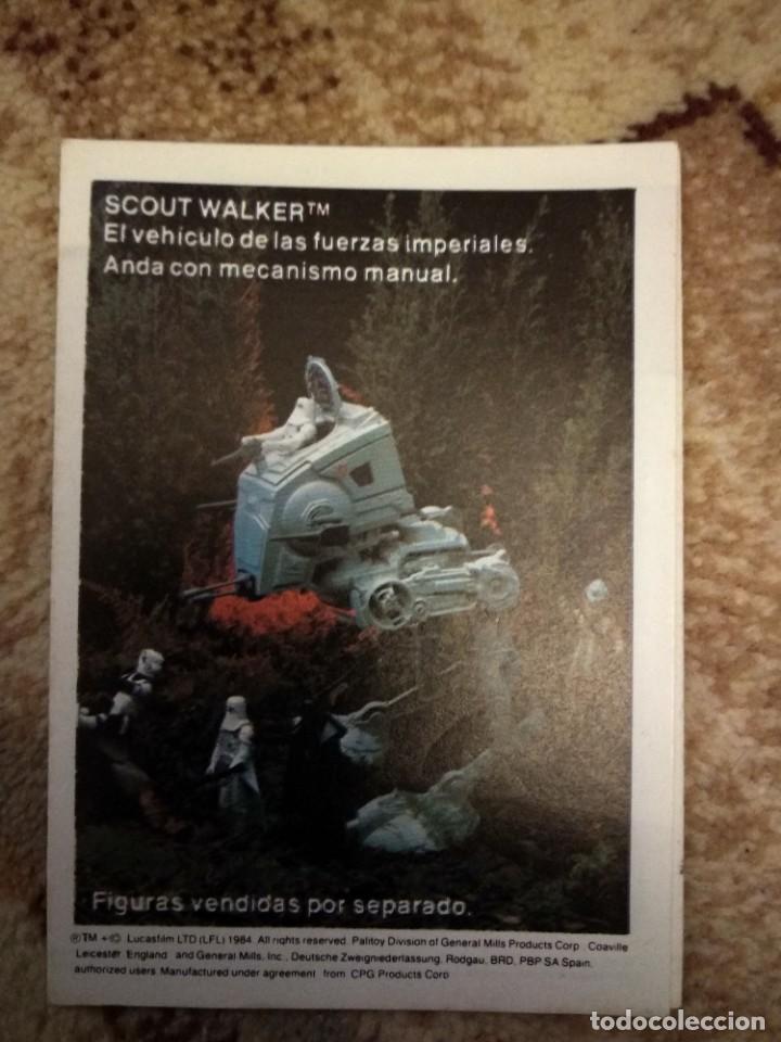 Figuras y Muñecos Star Wars: Folleto jueguetes Star Wars El retorno del jedi - Foto 2 - 261131400