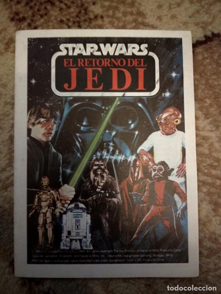 FOLLETO JUEGUETES STAR WARS EL RETORNO DEL JEDI (Juguetes - Figuras de Acción - Star Wars)