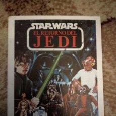Figuras y Muñecos Star Wars: FOLLETO JUEGUETES STAR WARS EL RETORNO DEL JEDI. Lote 261131400