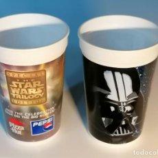 Figure e Bambolotti Star Wars: VASOS DE STAR WARS KFC Y PIZZA HUT DE 1997. Lote 261644745