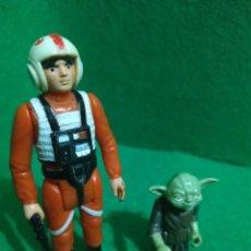 Figuras e Bonecos Star Wars: LUKE CHINA + YODA HONG KONG KENNER VINTAGE. Lote 261650305