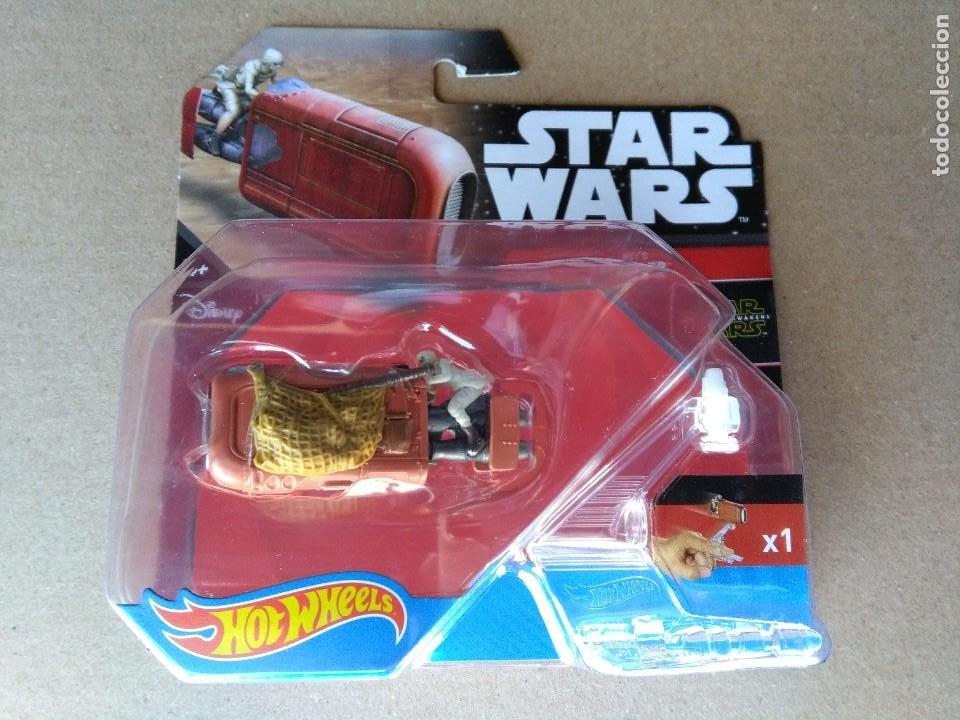STAR WARS REYS SPEEDER HOTWHEELS BLISTER 2015. (Juguetes - Figuras de Acción - Star Wars)