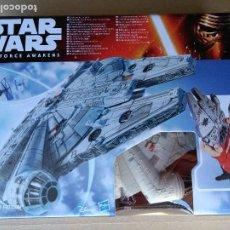 Figuras y Muñecos Star Wars: STAR WARS THE FORCE AWAKENS MILLENNIUM FALCON HALCON MILENARIO CAJA SIN ABRIR DISNEY HASBRO 2015.. Lote 261790810