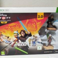 Figuras y Muñecos Star Wars: STAR WARS DISNEY INFINIY STARTER PACK XBOX 360 ANAKIN SKYWALKER ASOKHA TANO VIDEOJUEGO JEDI FIGURA. Lote 261810880