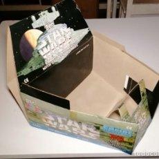 Figuras y Muñecos Star Wars: PROMOCION CABEZAS DE TOPPS STAR WARS 1997 CON CAJA EXPOSITORA. Lote 261879095