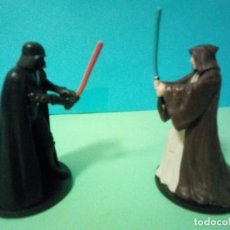 Figuras y Muñecos Star Wars: STAR WARS DARTH VADER VS OBI WAN. Lote 262141035