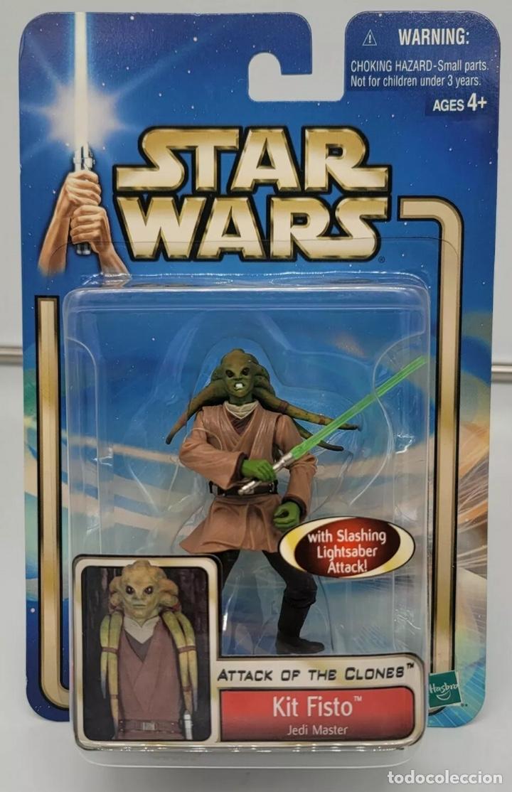 FIGURA KIT FISTO - STAR WARS - ATTACK OF THE CLONES - HASBRO KENNER VINTAGE COLLECTION POWER FORCE (Juguetes - Figuras de Acción - Star Wars)