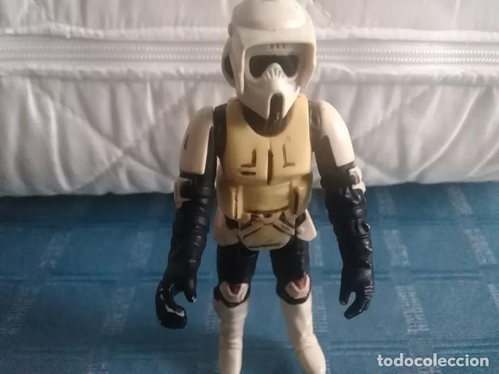 Figuras y Muñecos Star Wars: FIGURA STAR WARS BIKER SCOUT- KENNER, (TAIWAN) LFL 1983. - Foto 20 - 262250650