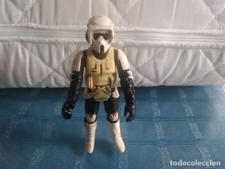 Figuras y Muñecos Star Wars: FIGURA STAR WARS BIKER SCOUT- KENNER, (TAIWAN) LFL 1983. - Foto 24 - 262250650