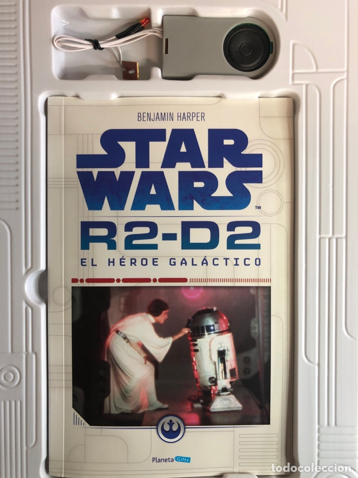 Figuras y Muñecos Star Wars: STAR WARS construye tu propio R2-D2 - Foto 5 - 262362295