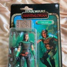 Figuras y Muñecos Star Wars: STAR WARS CARA DUNE Y MONEDA THE MANDALORIAN BLACK SERIES 15CM. Lote 262411680