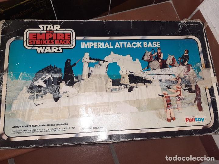 PALITOY 1980 KENNER U.S.A.STAR WARS THE EMPIRE STRIKES BACK.BASE IMPERIAL DE ATAQUE. (Juguetes - Figuras de Acción - Star Wars)
