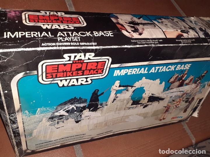 Figuras y Muñecos Star Wars: Palitoy 1980 Kenner U.S.A.Star Wars the Empire Strikes Back.Base Imperial de Ataque. - Foto 3 - 262848090