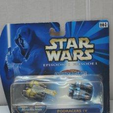 Figuras y Muñecos Star Wars: MICRO MACHINES STAR WARS PODRACERS IV EPISODIO I. Lote 262950575