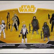 Figuras y Muñecos Star Wars: STAR WARS, SET DE 6 FIGURAS, PACK SOLO, FORCE LINK 2.0 - NUEVOS EN SU CAJA ORIGINAL DE HASBRO. Lote 263564285