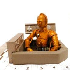 Figuras y Muñecos Star Wars: PEQUEÑO DIORAMA DE C-3PO -. Lote 264174676