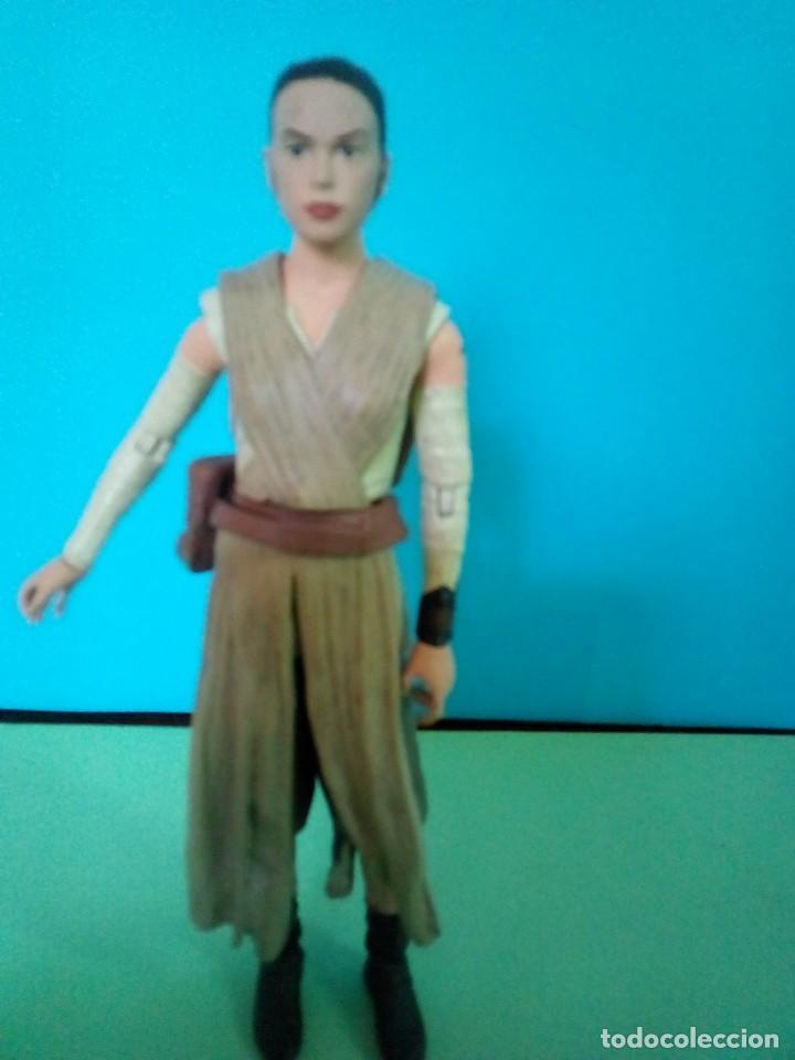 FIGURA REY STAR WARS ELITE SERIES DIE CAST (Juguetes - Figuras de Acción - Star Wars)
