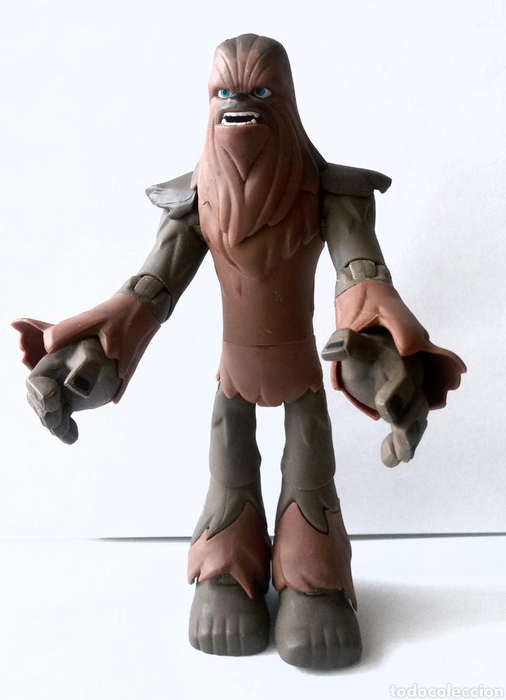 Figuras y Muñecos Star Wars: FIGURA DE COLECCION- CHEWBACCA - DISNEY - LUCAS FILM - 15 cm - Foto 3 - 266174158