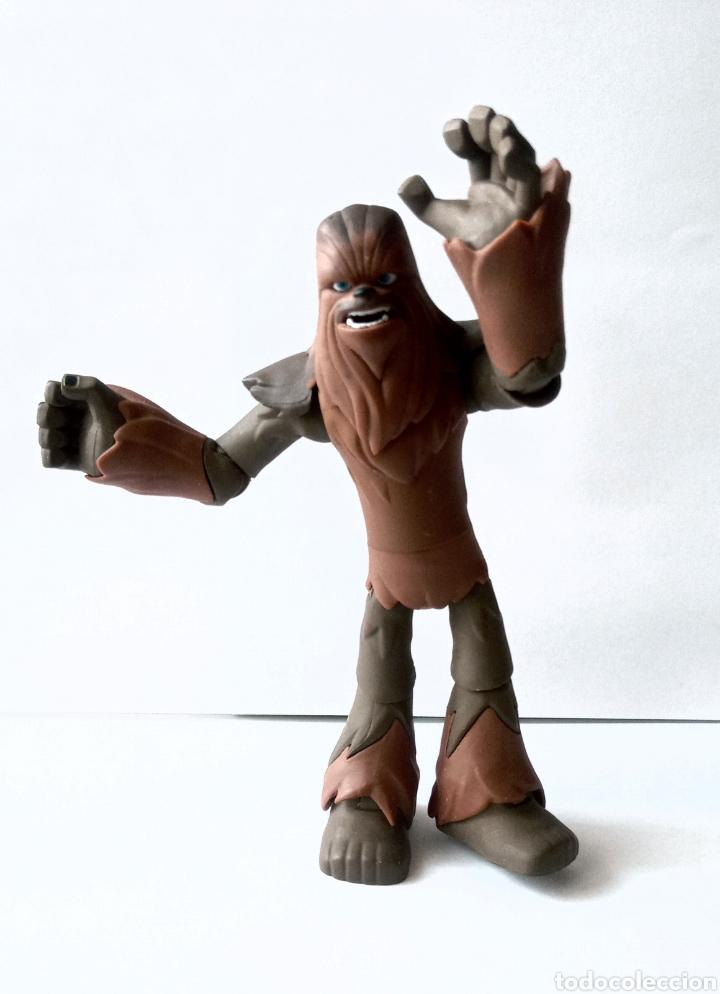 Figuras y Muñecos Star Wars: FIGURA DE COLECCION- CHEWBACCA - DISNEY - LUCAS FILM - 15 cm - Foto 6 - 266174158