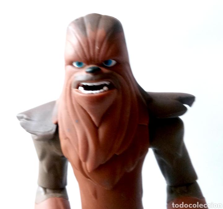 Figuras y Muñecos Star Wars: FIGURA DE COLECCION- CHEWBACCA - DISNEY - LUCAS FILM - 15 cm - Foto 12 - 266174158