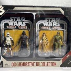 Figuras y Muñecos Star Wars: STAR WARS 30TH ANNIVERSARY COMMEMORATIVE TIN COLLECTION VI THE RETURN OF THE JEDI - KENNER VINTAGE. Lote 266979624