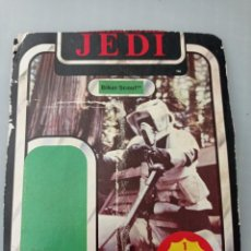 Figuras y Muñecos Star Wars: STAR WARS TROZO CARTON DEL BLISTER BIKER SCOUT. Lote 267132239