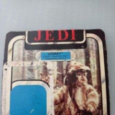 Figuras y Muñecos Star Wars: STAR WARS TROZO CARTON DEL BLISTER LOGRAY. Lote 267132359