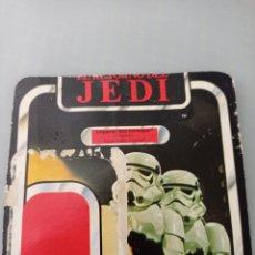 Figuras y Muñecos Star Wars: STAR WARS TROZO CARTON DEL BLISTER IMPERIAL STORMTROOPER. Lote 267132549