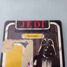 Figuras y Muñecos Star Wars: STAR WARS TROZO CARTON DEL BLISTER DARTH VADER. Lote 267132569