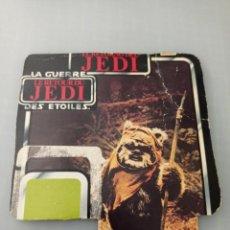 Figuras y Muñecos Star Wars: STAR WARS TROZO CARTON DEL BLISTER WICKET W. WARRICK. Lote 267132619