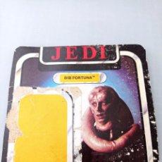 Figuras y Muñecos Star Wars: STAR WARS TROZO CARTON DEL BLISTER BIB FORTUNA. Lote 267132679