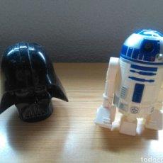 Figuras y Muñecos Star Wars: LOTE DE DOS MUÑECOS STAR WARS. MC DONALD 2009. Lote 267350479