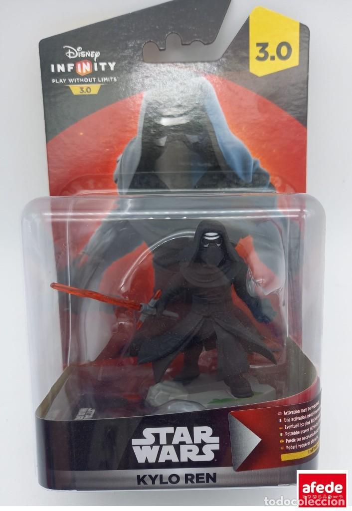 FIGURA DISNEY INFINITY 3.0 KYLO REN DE SINGLETON (Juguetes - Figuras de Acción - Star Wars)