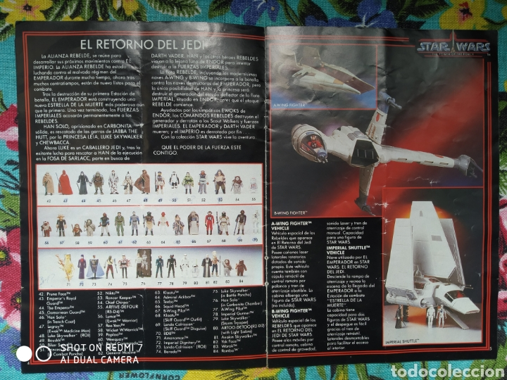 Figuras y Muñecos Star Wars: catálogo Star Wars the power of the force 1985 completo - Foto 3 - 269067888