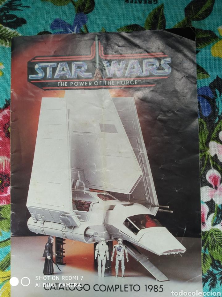 CATÁLOGO STAR WARS THE POWER OF THE FORCE 1985 COMPLETO (Juguetes - Figuras de Acción - Star Wars)