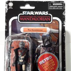 Figuras y Muñecos Star Wars: FIGURA THE MANDALORIAN STAR WARS RETRO COLLECTION HASBRO. Lote 269811343