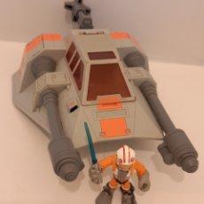 Figuras y Muñecos Star Wars: SNOWSPEEDER PLAYSKOOL HASBRO AÑO 2009. Lote 269942998