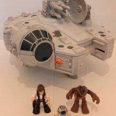 Figuras y Muñecos Star Wars: HALCON MILENARIO PLAYSKOOL HASBRO AÑO 2011. Lote 269946143