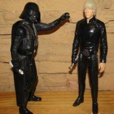Figuras y Muñecos Star Wars: STAR WARS - DARTH VADER Y LUKE SKYWALKER - LOTE DE 2 FIGURAS - HASBRO. Lote 270354678