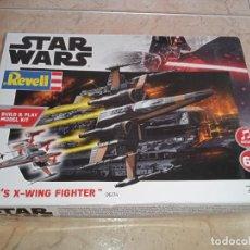 Figuras y Muñecos Star Wars: MAQUETA REVELL NAVE STAR WARS STARWARS POE'S X - WING FIGHTER A ESTRENAR. Lote 271534648