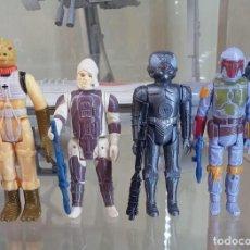 Figuras y Muñecos Star Wars: BOSSK DENGAR ZUCKUSS Y BOBA FETT - 1980 HONG KONG - STAR WARS KENNER VINTAGE. Lote 271636128