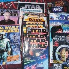 Figuras y Muñecos Star Wars: SUPER LOTE REVISTAS STAR WARS DARK SIDE - STAR WARS MAGAZINE - THE FORCE - STAR WARS JOURNAL. Lote 271664483
