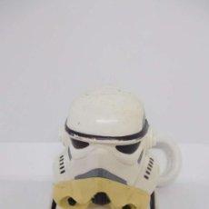 Figuras y Muñecos Star Wars: LLAVERO CABEZA SOLDADO IMPERIAL STAR WARS ANTIGUO GUERRA DE LAS GALAXIAS. Lote 49222833