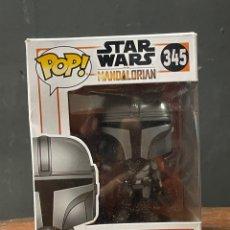 Figuras y Muñecos Star Wars: FUNKO POP DE STAR WARS THE MANDALORIAN NÚMERO 345 NUEVO A ESTRENAR. Lote 271806783