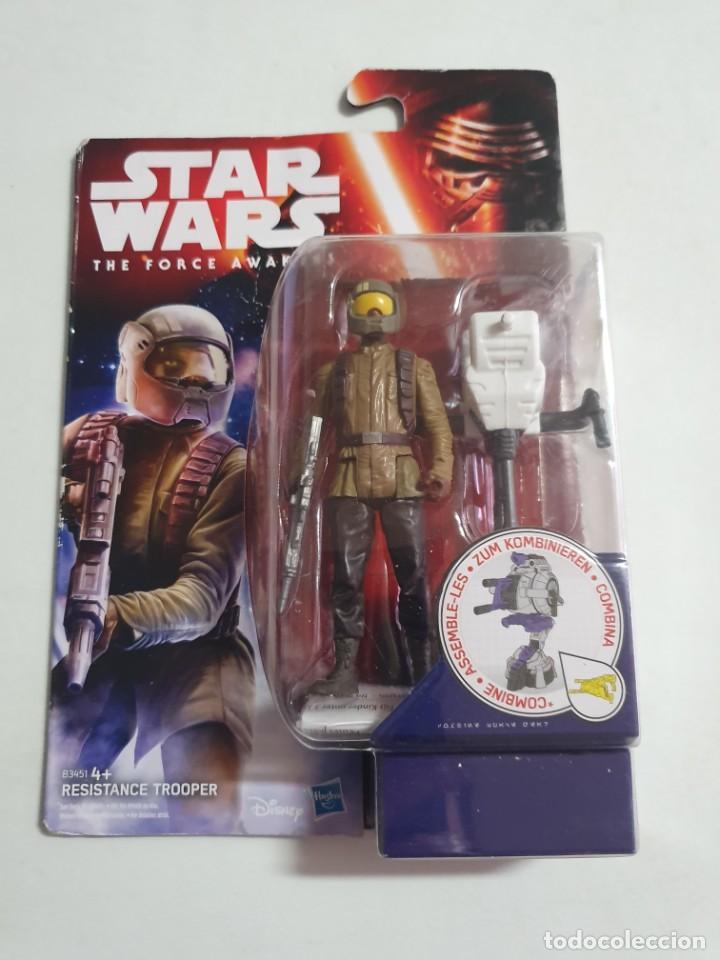 STAR WARS REY RESISTANCE TROOPER ESTADO NUEVO MAS ARTICULOS (Juguetes - Figuras de Acción - Star Wars)