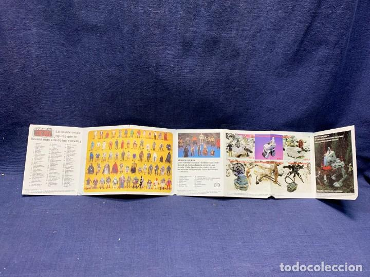 CATALOGO DESPLEGABLE STAR WARS EL RETORNO DEL JEDI 1984 PBP ESPAÑOL 11X56CMS (Juguetes - Figuras de Acción - Star Wars)