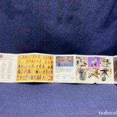 Figuras y Muñecos Star Wars: CATALOGO DESPLEGABLE STAR WARS EL RETORNO DEL JEDI 1984 PBP ESPAÑOL 11X56CMS. Lote 271879003