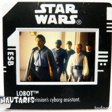 Figuras y Muñecos Star Wars: STAR WARS DIAPOSITIVA FREEZE FRAME LOBOT (1998). Lote 274582613