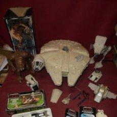 Figuras e Bonecos Star Wars: MAGNIFICO LOTE ANTIGUO VINTAGE DE STAR WARS,SALIDA 1 EURO. Lote 274587693
