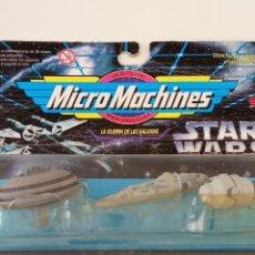 Figuras e Bonecos Star Wars: STAR WARS-MICRO MACHINES,LA GUERRA DE LAS GALAXIAS. Lote 275071048